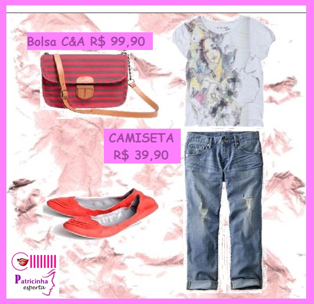 look camiseta e jeans - Camiseta Nada Básica - Parte I