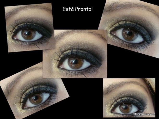 2011 08 262 - Tutorial: Make Dourado com Preto Star