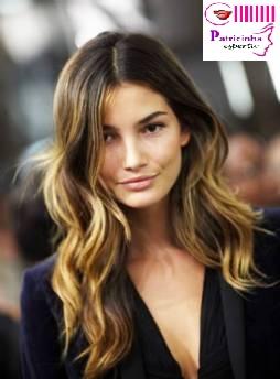 39962lis - A Nova Moda dos Cabelos – Ombré Hair