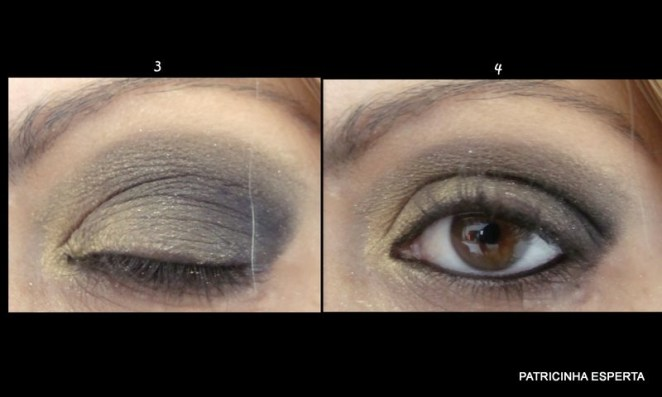 Blog82 - Tutorial: Make Dourado com Preto Star