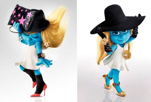 blog 1 - Linda!!! Melissa + Smurfs = Melisfetes!