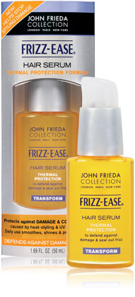 hair serum thermal protection formula - Eu Uso - John Frieda - Serum - Ease Hair Serum Thermal Protection Formula