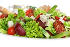 salada1 300x200 - Alimentos que saciam Mais!