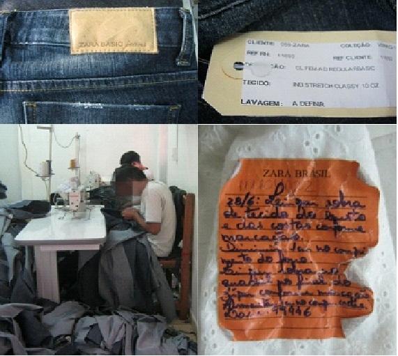 zara2 - #Zara e o Trabalho Escravo!