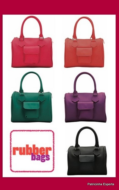 Rachel Bilson15 - Rubber Bags - Bolsa Colorida da Santa Lolla!!!