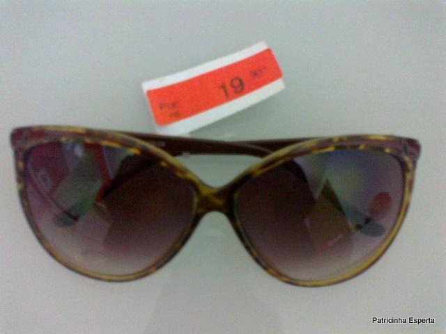 18102011458 - Extra... Extra... Óculos Escuro na C&A por R$ 19,90