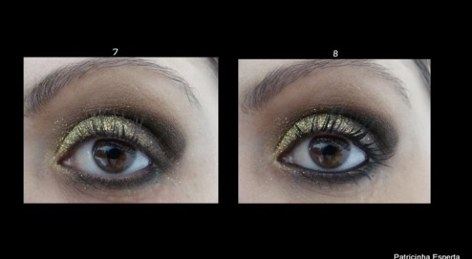 2011 10 085 - Tutorial: Make Dourado com  Glitter