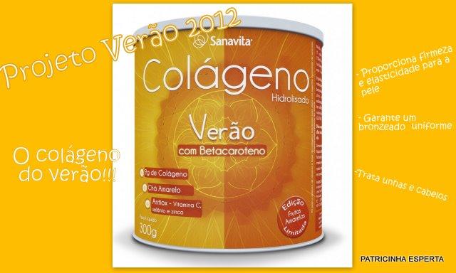 2011 10 25 - Projeto Verão 2012: Colágeno Verão Com Betacaroteno – Sanavita