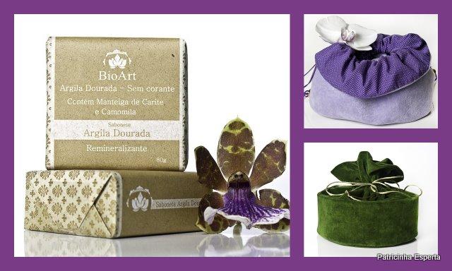 2011 11 028 - Sabonete de Argila Dourada - BioArt