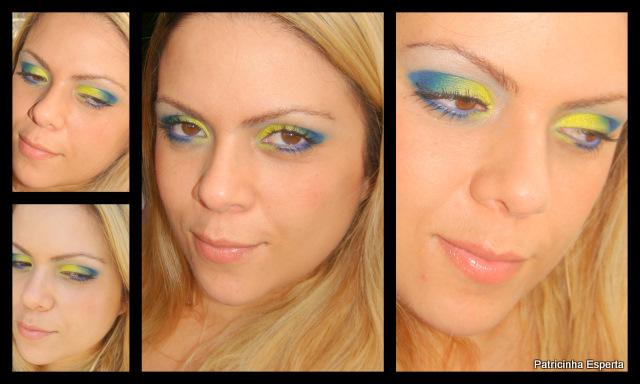 2011 11 115 - Tutorial: Make Azul e Amarelo