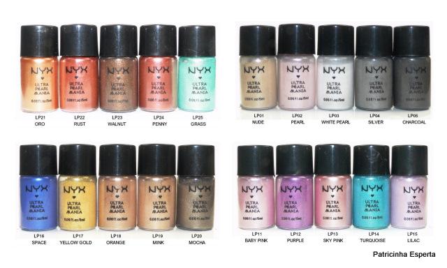 2011 11 2311 - Pigmentos Nyx Ultra Pearl Mania