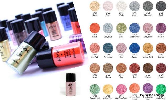 2011 11 232 - Pigmentos Nyx Ultra Pearl Mania