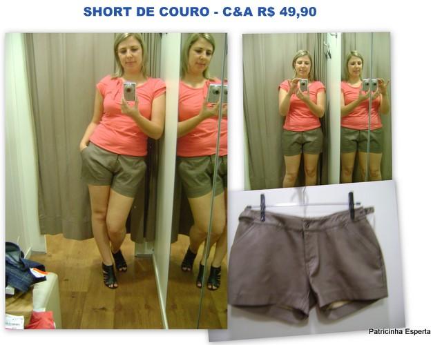 Patricinha Esperta2 - Achadinhos na C&A – Short a partir de R$ 29,90