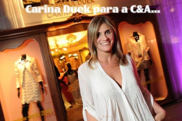 carina duek1 - Lançamento - Carina Duek para a C&A!!!