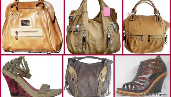 2011 12 075 - Bolsas e Sandálias de Couro Com Até 40 % De Desconto Só Para Vocês!!!