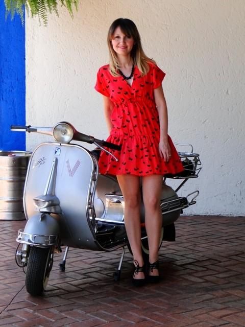 Vestido borboleta 01 - Adriana Antunes - Fique Linda para no Natal e Ano Novo...