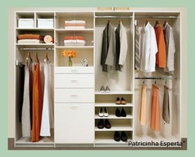 agm bedroom closet melamine1 - Guarda-roupa básico