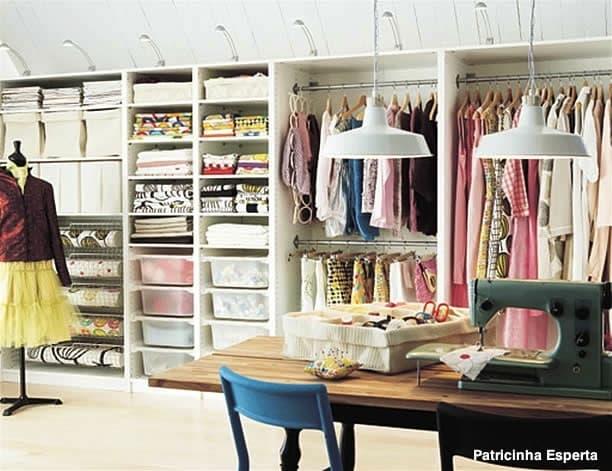 banheiros com closet 13 - Como usar o closet a seu favor