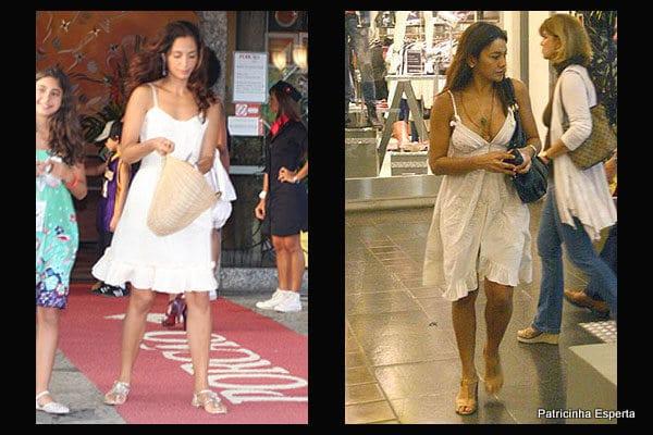 camila pitanga dira paes vestido branco - Como Usar o Branco do Réveillon???