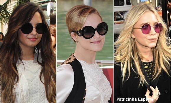 famosas oculos redondo22876 - Óculos Redondos