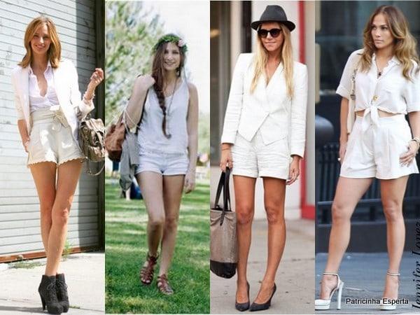 short branco - Como Usar o Branco do Réveillon???