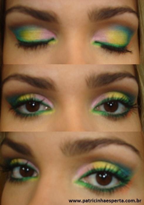 057post1 - Tutorial - Maquiagem de Carnaval para o dia