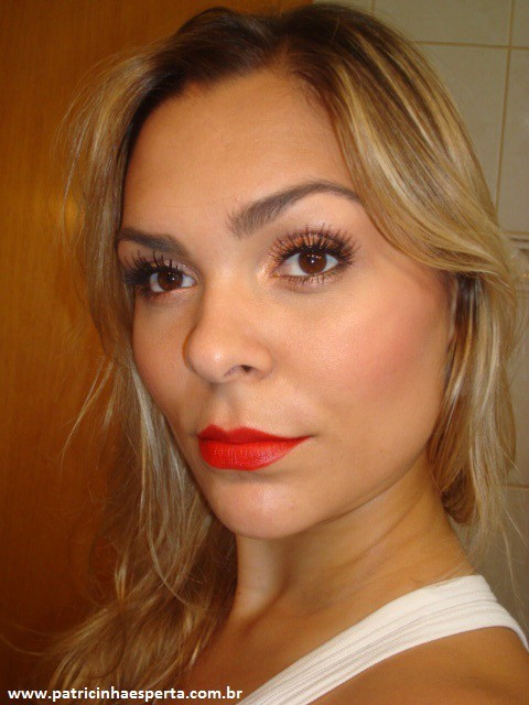 060post - Tutorial - Maquiagem inspirada na atriz Milla Jovovich  - Oscar 2012