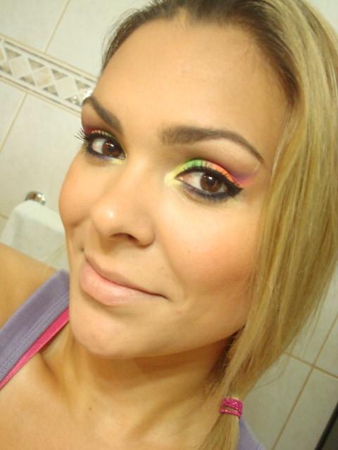 179 - Tutorial - Maquiagem de Carnaval Neon
