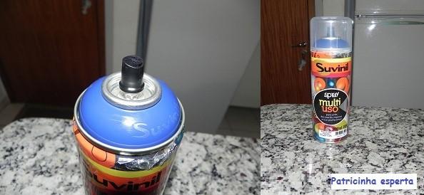 DSCN2278 - Mudando a cor do meu baú de compensado...