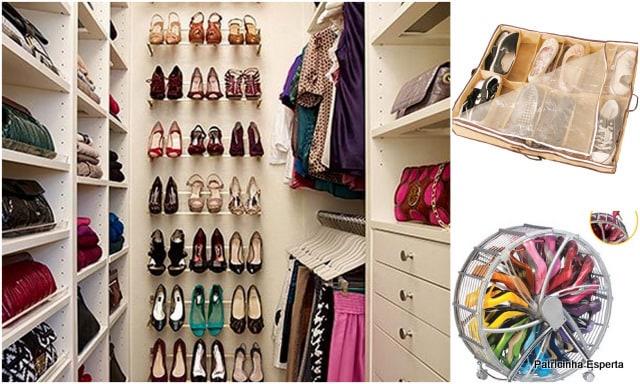 Patricinha Esperta4 - Como Organizar Calçados?