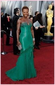 Viola Davis 195x300 - Oscar 2012 - Look das celebrities