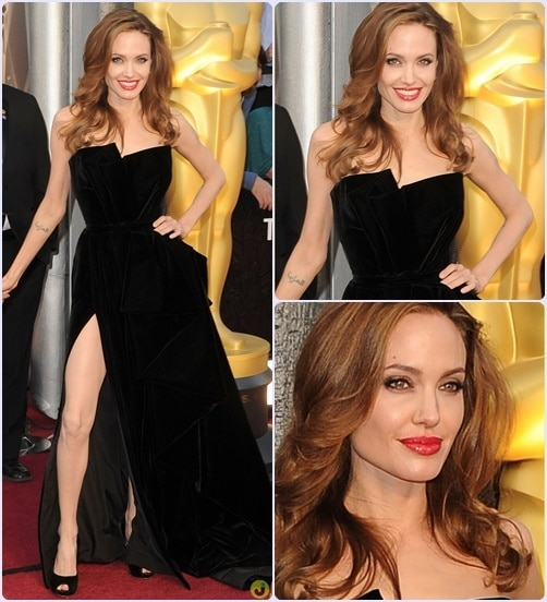 angelina1 - Os 5 melhores looks do Oscar 2012