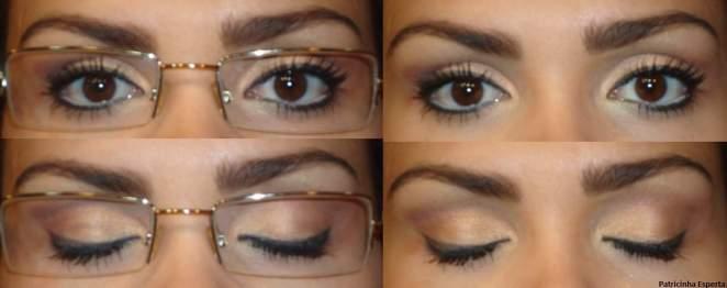 017post1 - Maquiagem para quem usa óculos