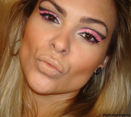 023post2 - Maquiagem para Balada - Rosa Fluorescente com Rímel Pink