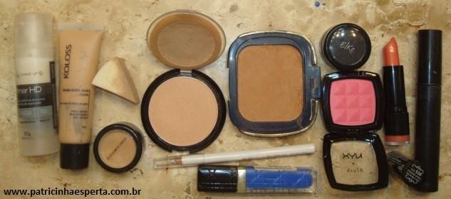 034post - Maquiagem para noite com rímel azul