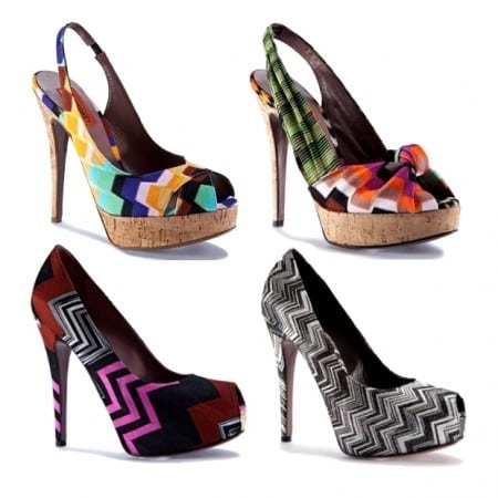 Missoni Shoes 02 450x450 - Estilo Missoni!