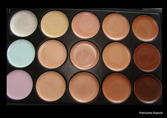 Patricinha Esperta42 - Paleta de corretivos – 15 cores