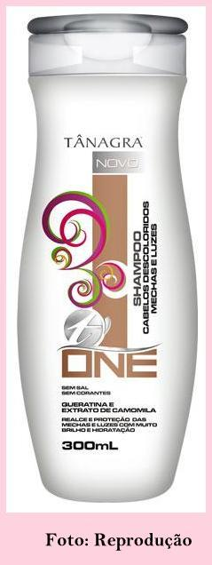 Shampoo1 - O Diário de uma Loira: Tratando os fios com Tânagra T. One