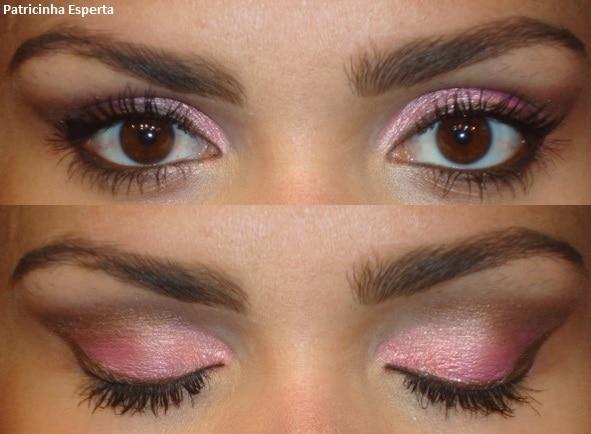 015post - Maquiagem 3D para o dia - Goiaba e Rosa com Marrom