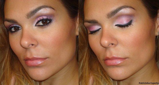 029post1 - Maquiagem Rosa Delicada - Ideal para Debutantes (Festas de 15 anos)