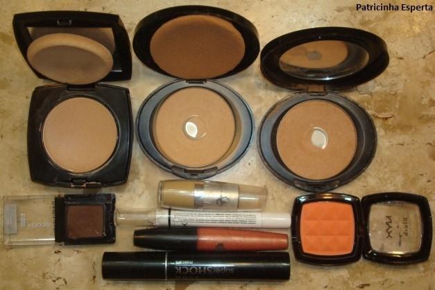 038post1 - Maquiagem 3D para o dia - Goiaba e Rosa com Marrom