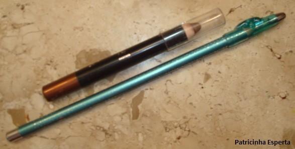 050post - Maquiagem colorida para o dia - Testando lápis sombra Avon + lápis colorido Ruby Rose