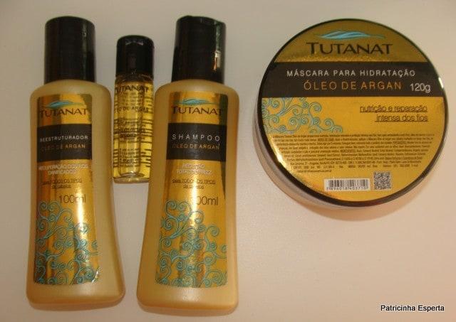 Patricinha Esperta14 - Kit de Cristalização Argan – Tutanat (parte 2)