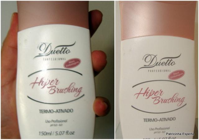 Patricinha Esperta31 - Hiper Brushing Termo-Ativado - Duetto