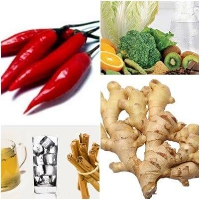 termogenicos - Alimentos termogênicos