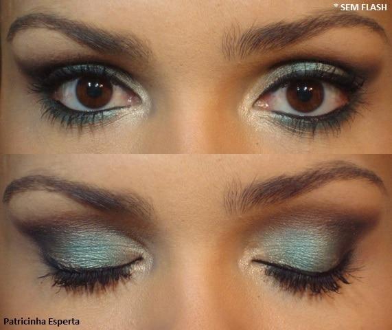 016post.. - Tutorial - Maquiagem Cintilante para Festas