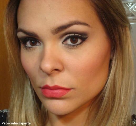 017post1 - Tutorial - Maquiagem Neutra para Noite + Gloss Matte Nyx
