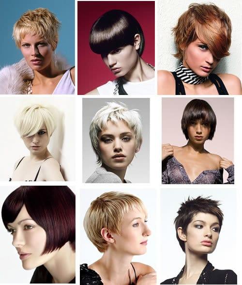 cabelos curtos - Quanto Custa Mudar os Cabelos? – Colorações, Mega Hair, Corte Curto