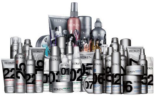 products - Como Fazer Penteados de Passarela com Redken Styling Parte 1 – Escolha de Produtos.