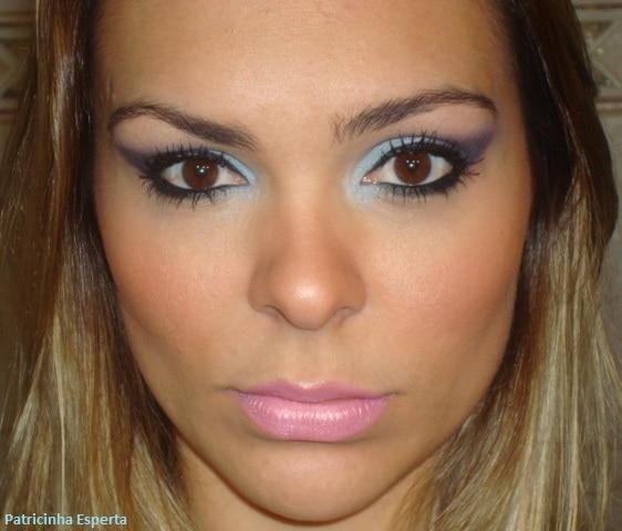 012 - Tutorial - Maquiagem Colorida para o Inverno